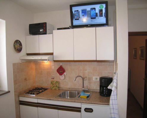 Apartma 1 Strunjan Sosič Kuhinja