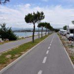 Kolesarska pot obala